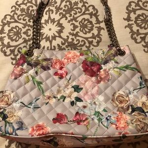 Nine West Floral Handbag
